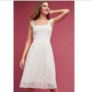 NWOT Anthropologie Maeve Anastasi lace dress